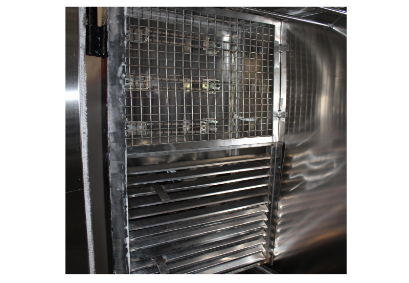 industrial oven heated chamber