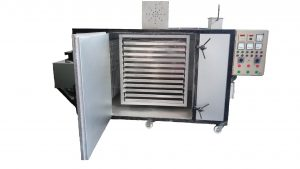 Rotary industrial oven